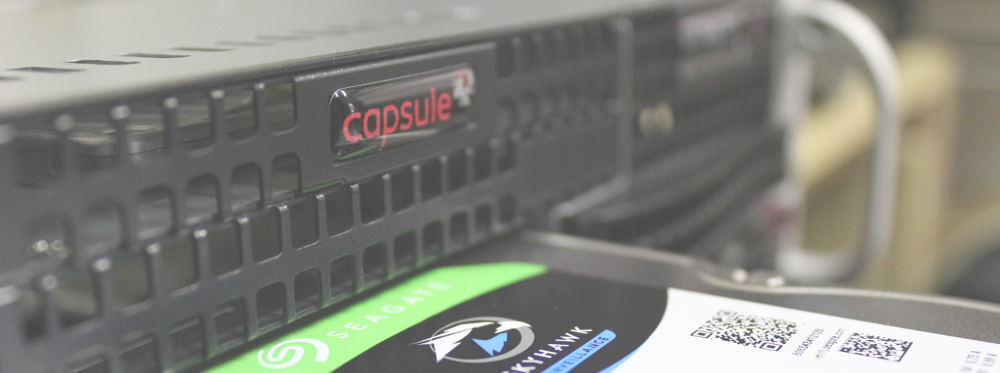 Capsule Technologies CCTV NVR for BVMS Exacqvision Milestone and Axxon